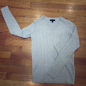 Cable knit Wool sweater